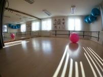 Nagyterem / csoportos órák (pilates, stretching)