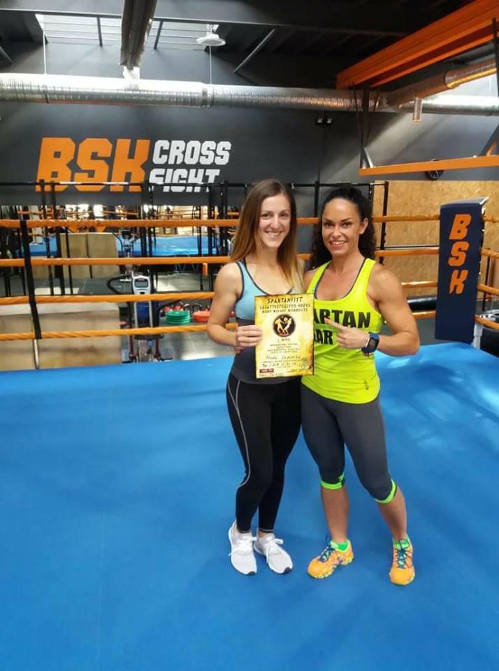 Hada Veronika, Fitness-testépítő sportedző, Spartanfitt Body Weight oktató