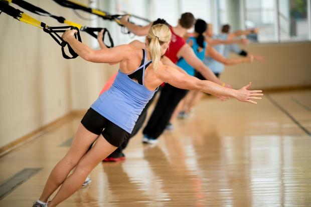 Hevederes edzés (TRX)